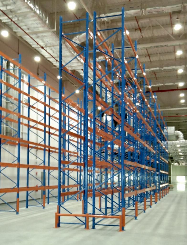 1,800 pallets Selective Racking delivered & installed