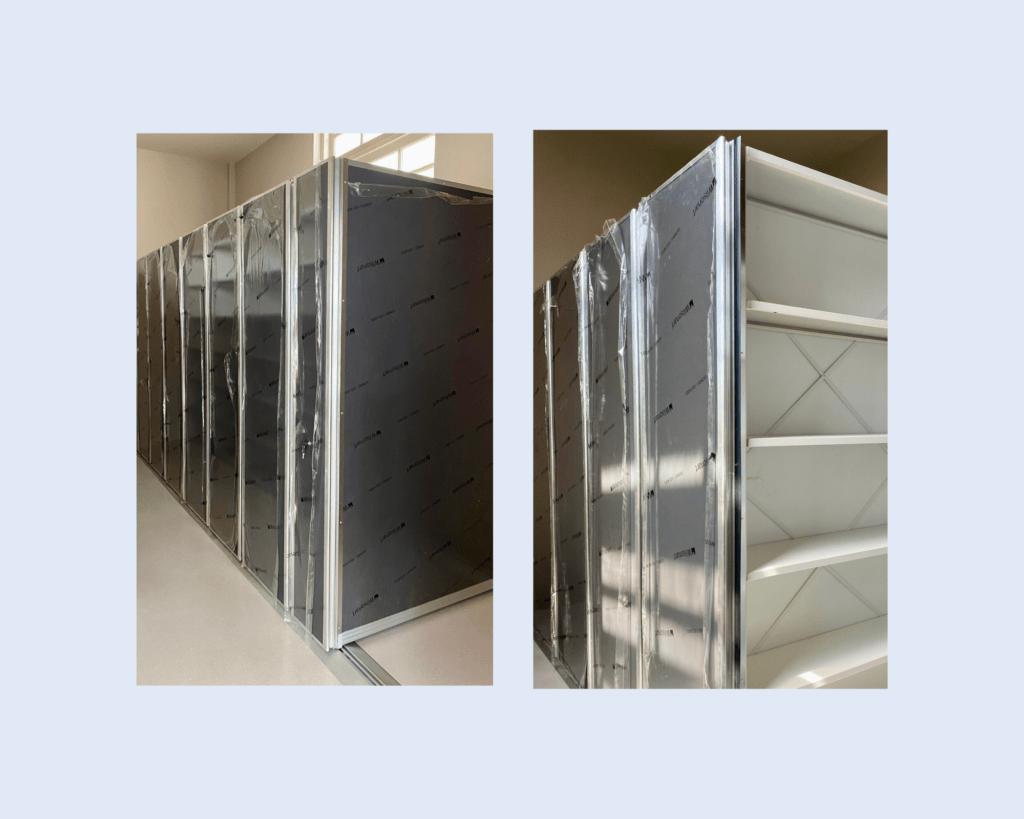 mobile storage shelves